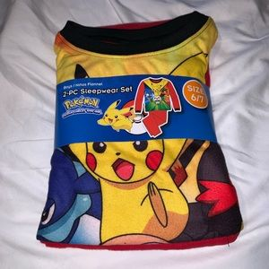 Pokémon pajamas